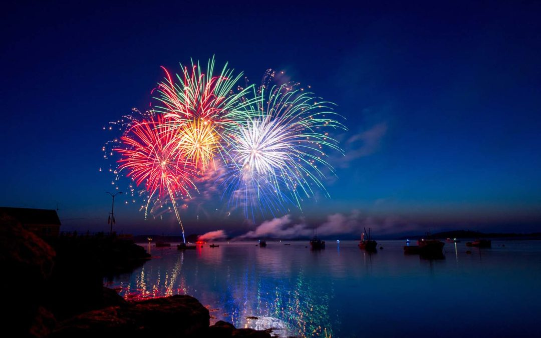 2019 Fireworks Shows on Center Hill Lake