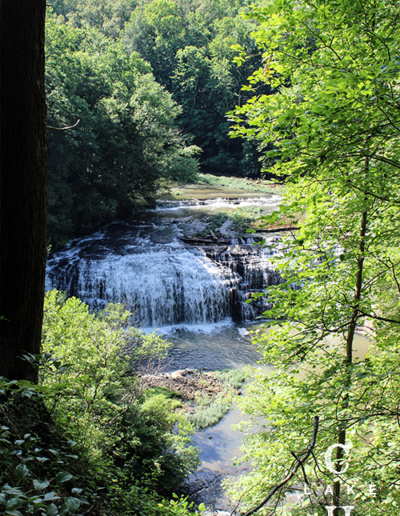 waterfalls middle tennessee