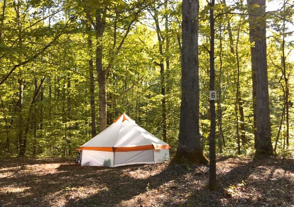 campgrounds cookeville tennessee