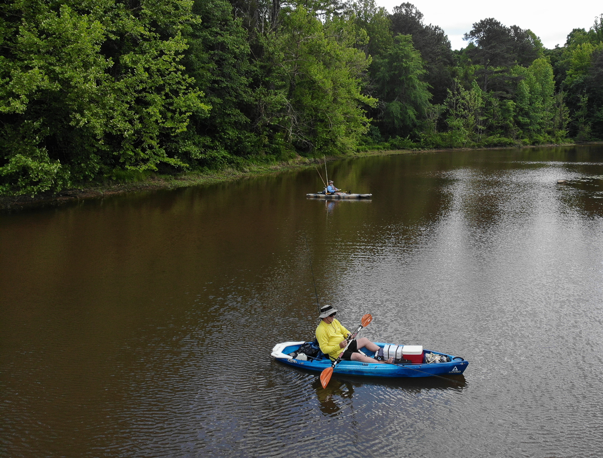 Kayak Fishing with the Ranger at Edgar Evins State Park