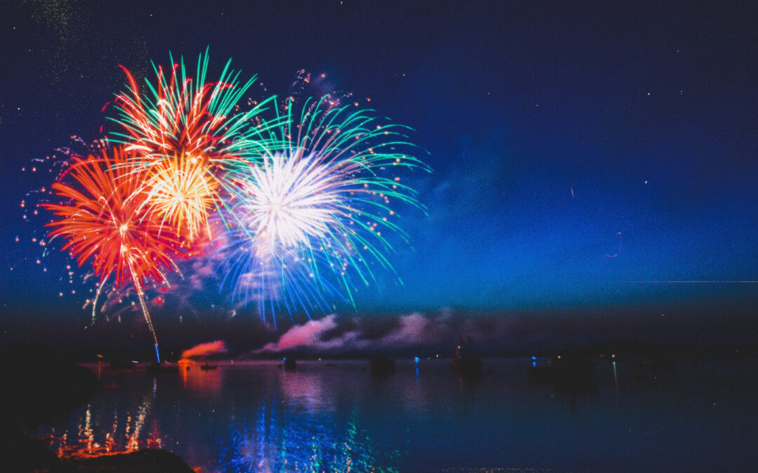 July 4th fireworks shows lake tennessee